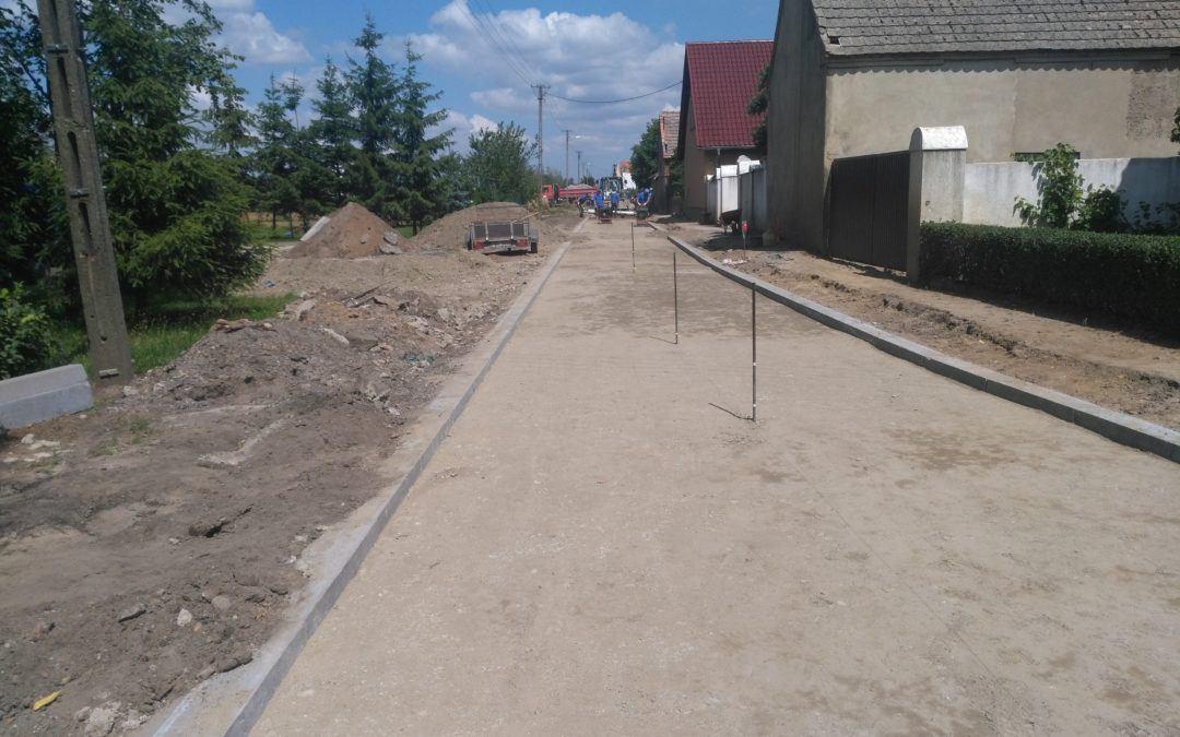Budowa drogi w Buczu Nowym