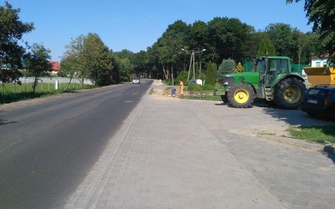 Wznowienie prac przy ul. Kasztanowej w Buczu