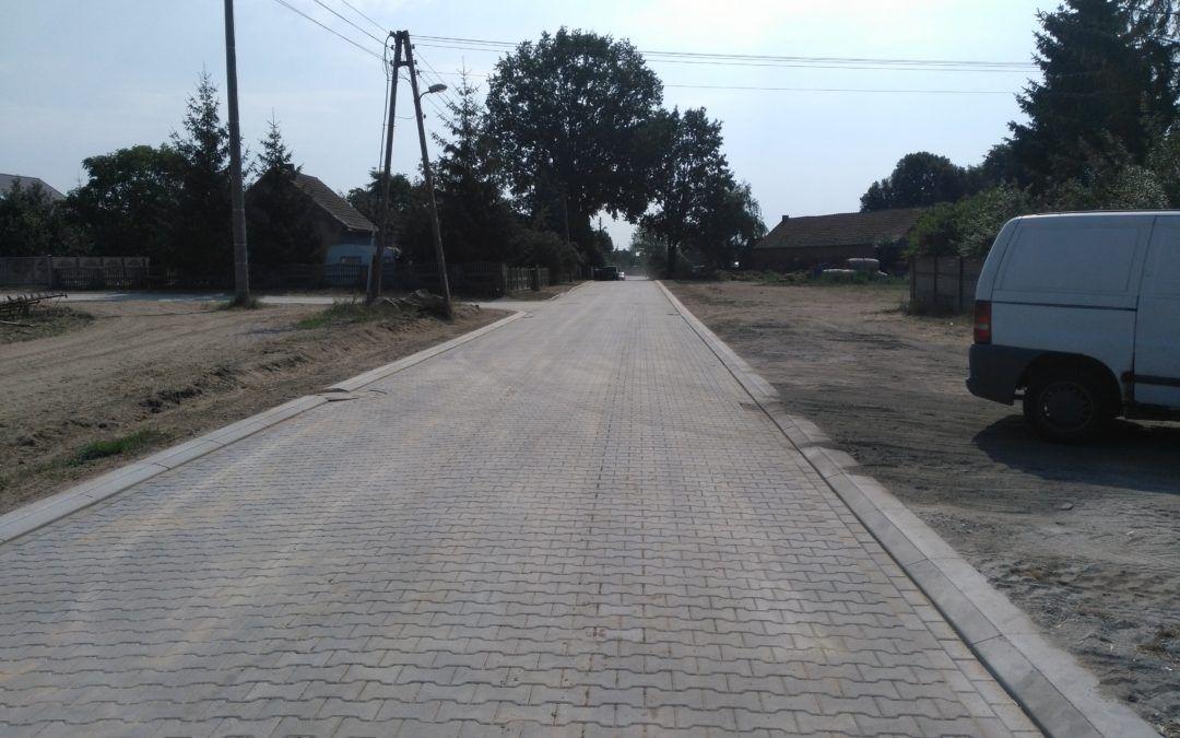 Zakończenie prac na ul. Konwaliowej w Radomierzu