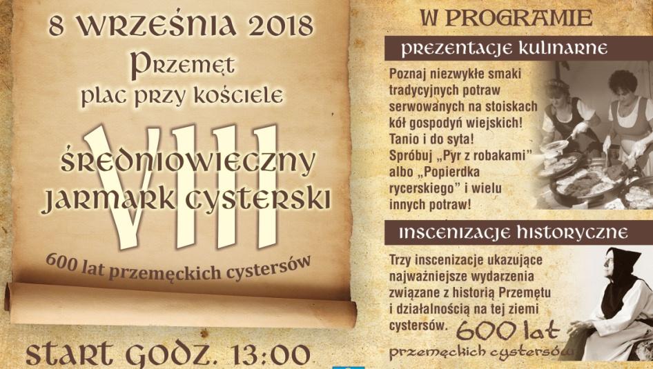 VIII Średniowieczny Jarmark Cysterski w Przemęcie