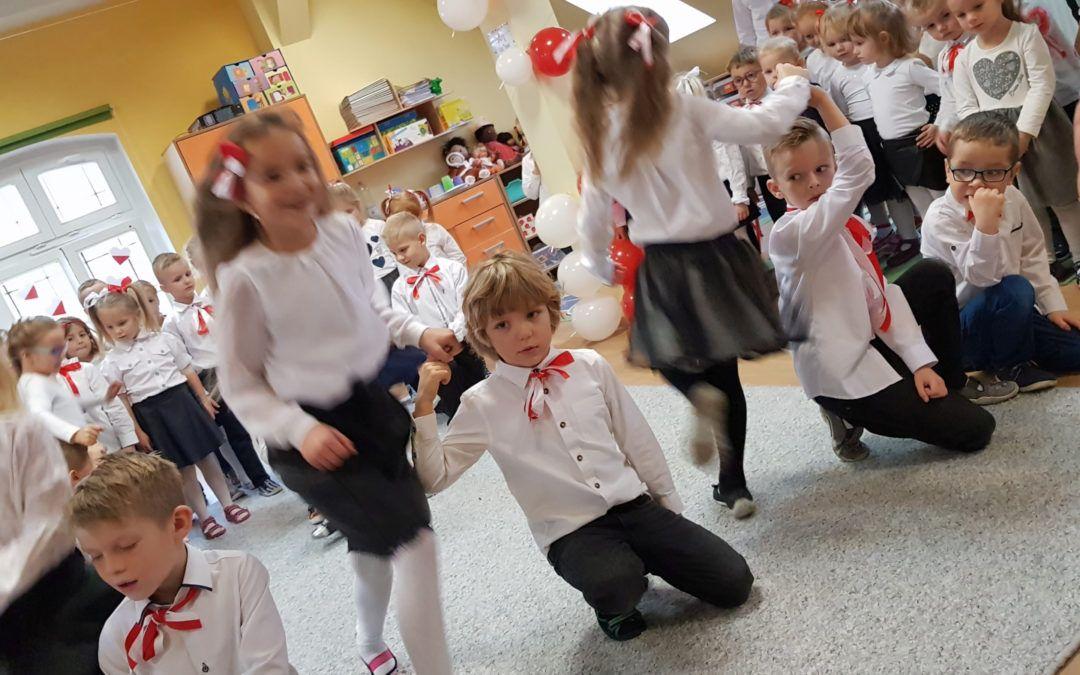 Święto niepodległości w przemęckim przedszkolu