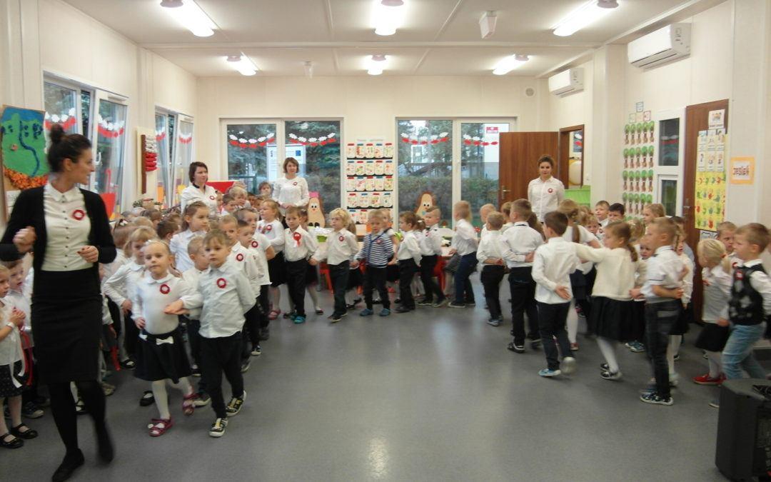Obchody 100-tnej Rocznicy Odzyskania Niepodległości Polski w przedszkolu w Buczu