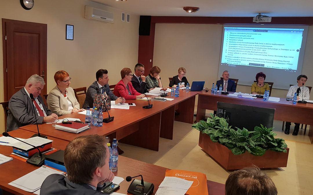 Wybrano składy komisji Rady Gminy Przemęt
