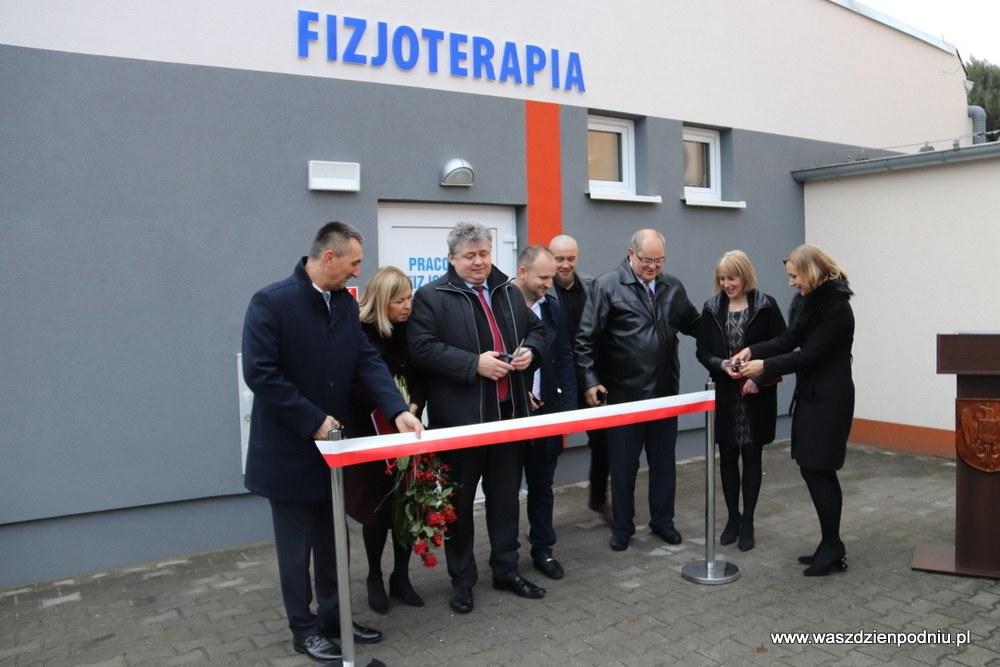 Otwarcie Pracowni Fizjoterapii w Wolsztynie.