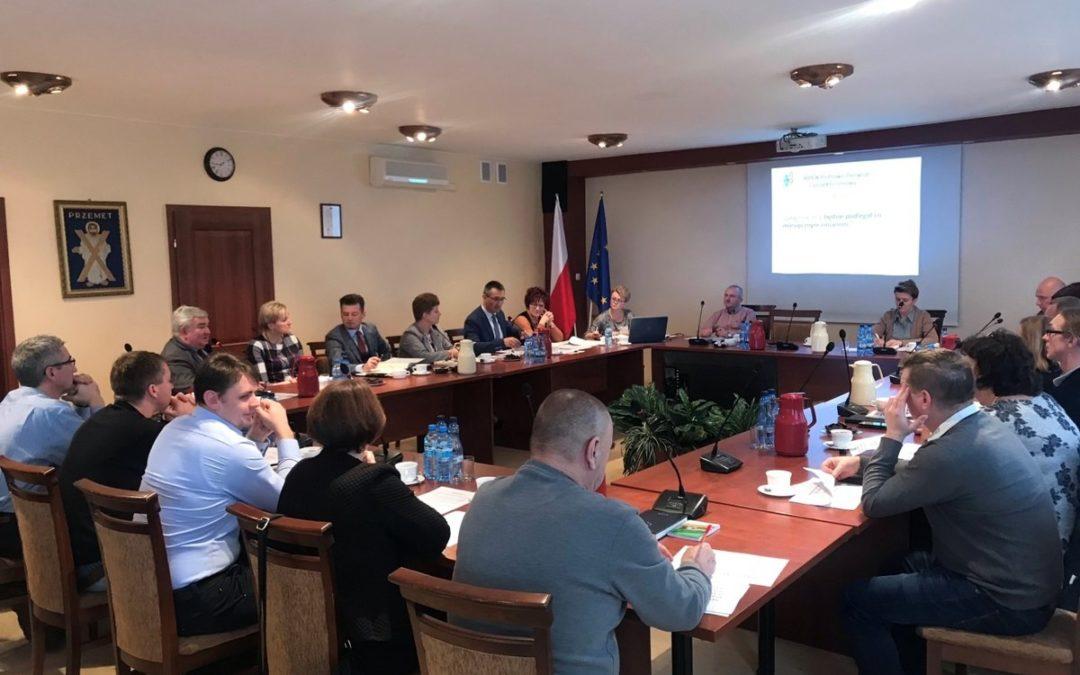 Posiedzenie wspólnych komisji Rady Gminy Przemęt