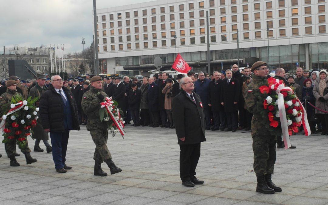 Warszawskie obchody 100. rocznicy Powstania Wielkopolskiego