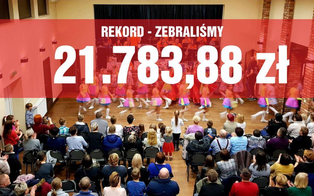 Rekord w Przemęcie – zebraliśmy ponad 21 tys. zł!