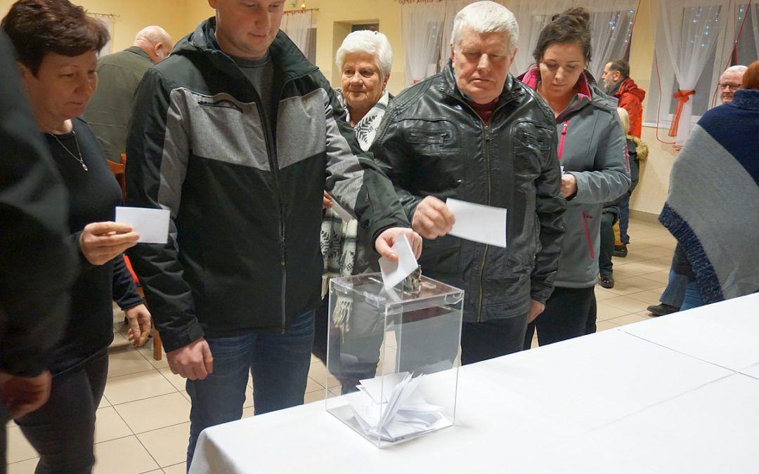 Sołeckie wybory w Osłoninie