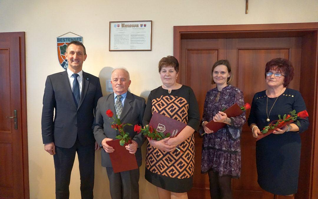 Podziękowanie dla sołtysów z Gminy Przemęt