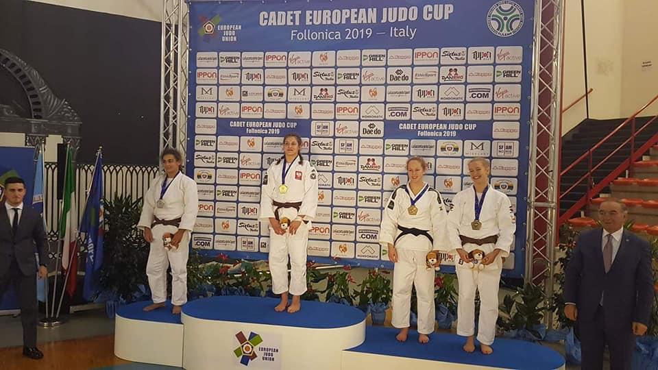 Złoty medal Pucharu Europy Katarzyny Sobierajskiej z Przemętu!!!