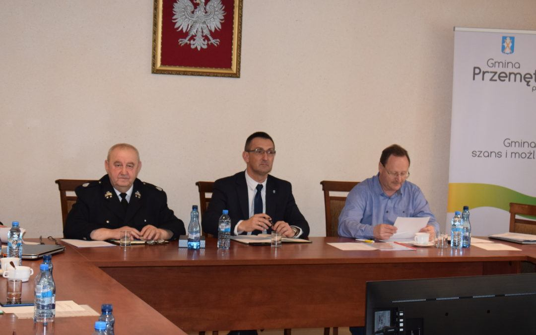Wyjazdowe posiedzenie Zarządu Oddziału Powiatowego ZOSP RP w Wolsztynie
