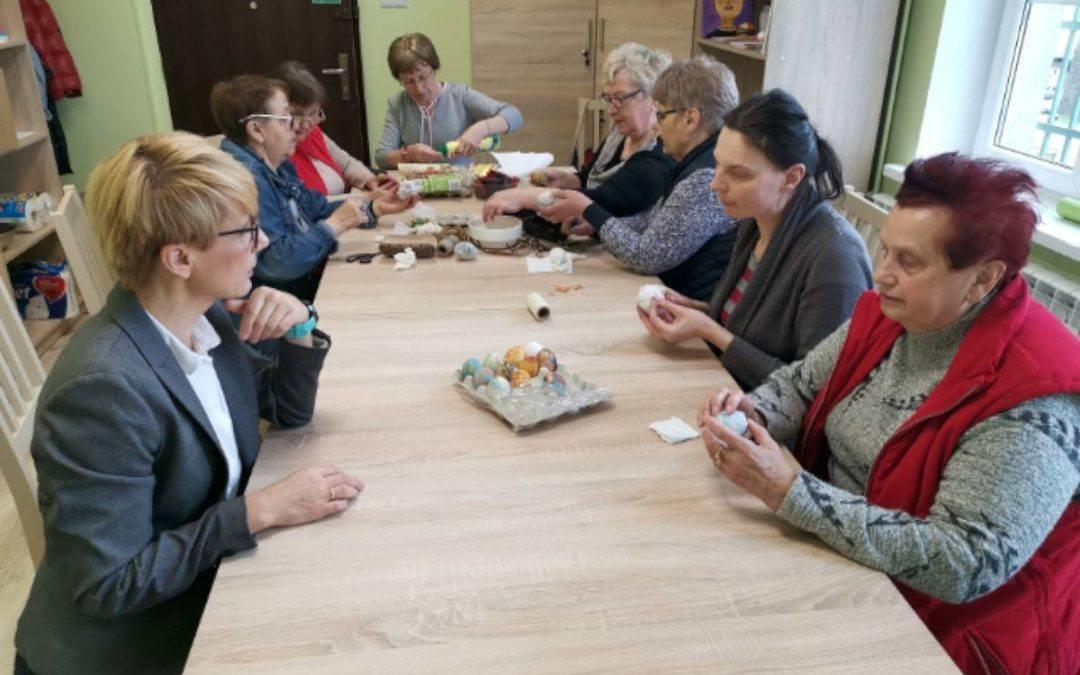 Wizyta Wójta Gminy Przemęt w Klubie Seniora w Buczu