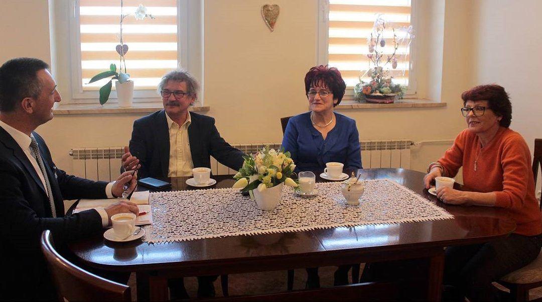 Wizyta Posła Wojciecha Ziemniaka w Gminie Przemęt