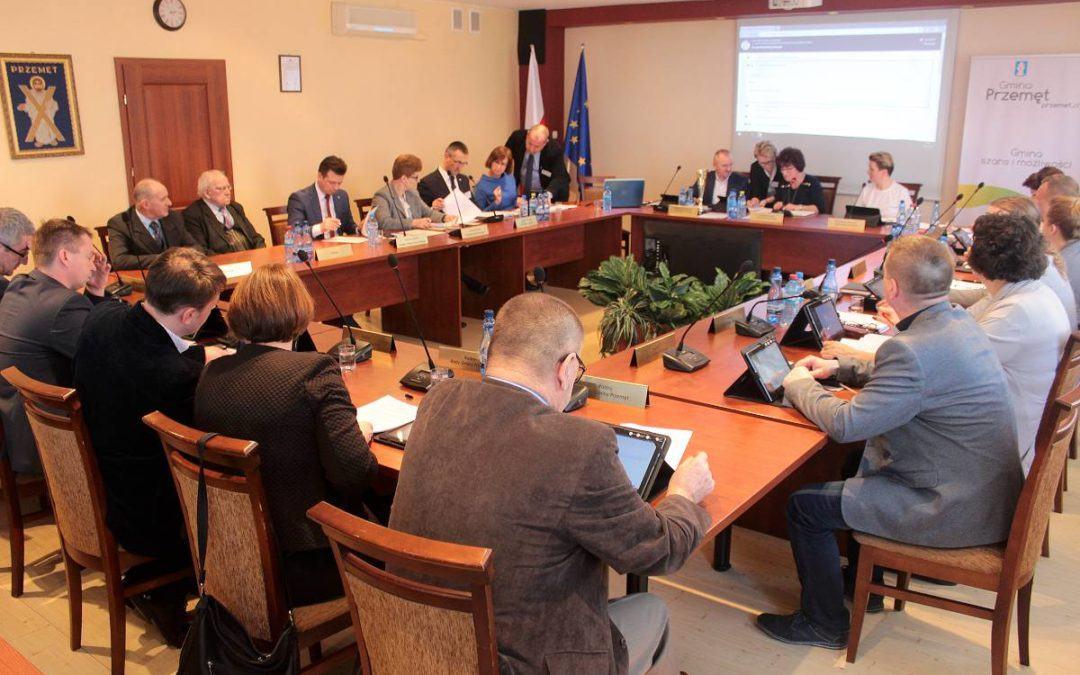 IX sesja Rady Gminy Przemęt