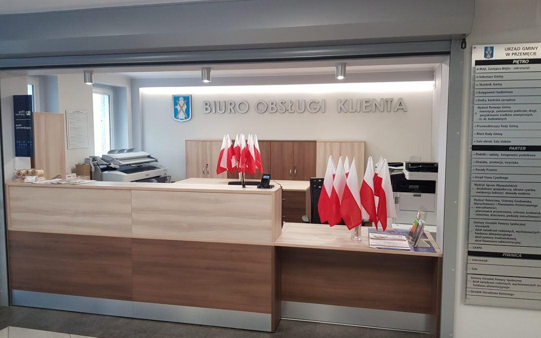 Dzień Flagi w Urzędzie Gminy Przemęt