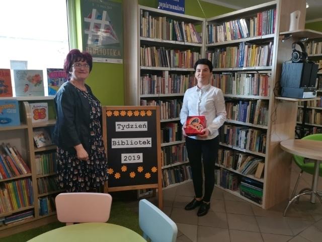 Odwiedziny w bibliotekach