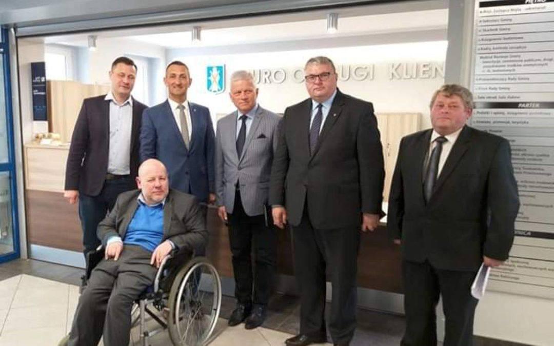 Europoseł dr Andrzej Grzyb w gminie Przemęt
