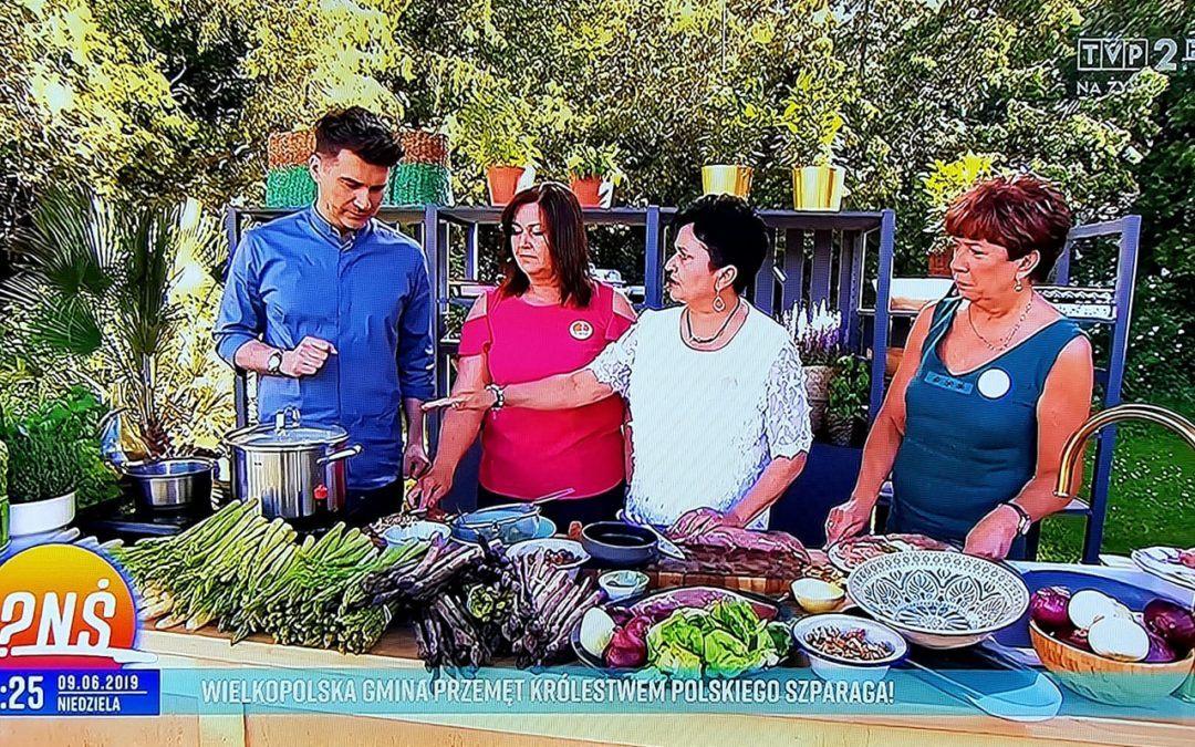 Przemęckie koła gospodyń wiejskich zaprezentowały się w programie Pytanie na śniadanie