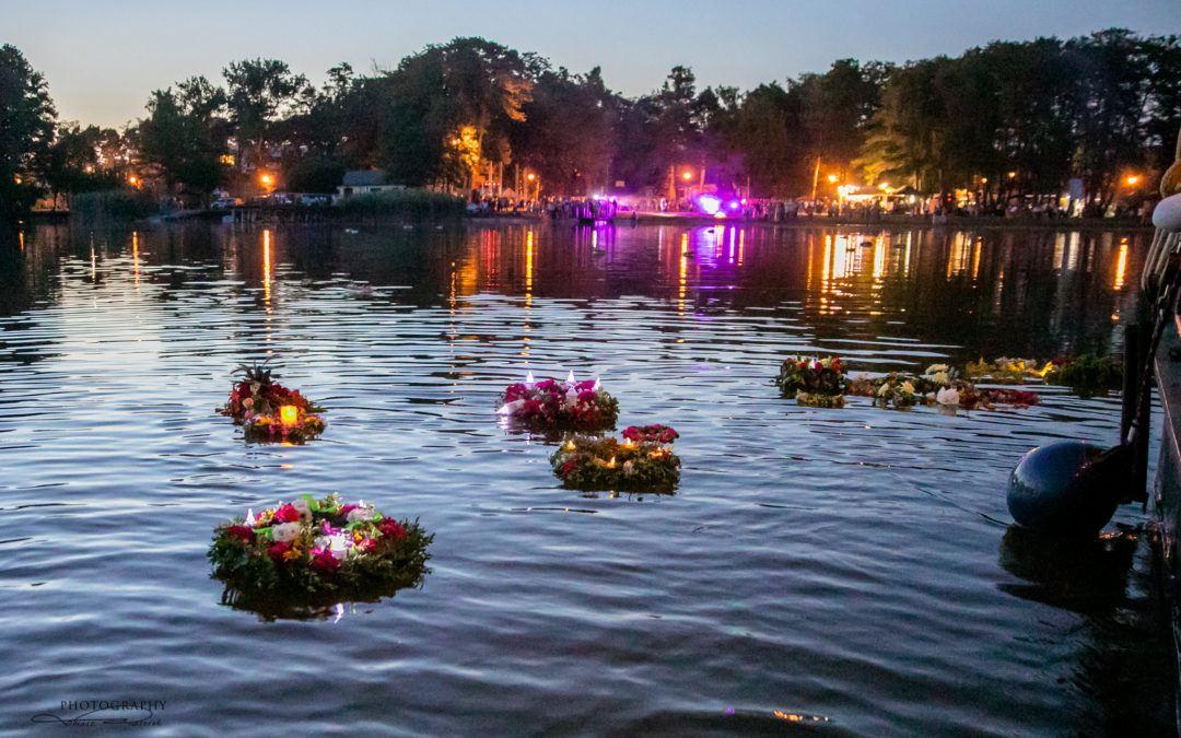 Noc Kupały nad Jeziorem Wieleńskim