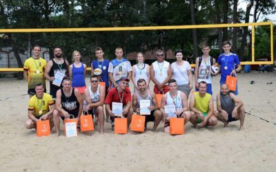 Turniej Siatkówki Plażowej w Osłoninie