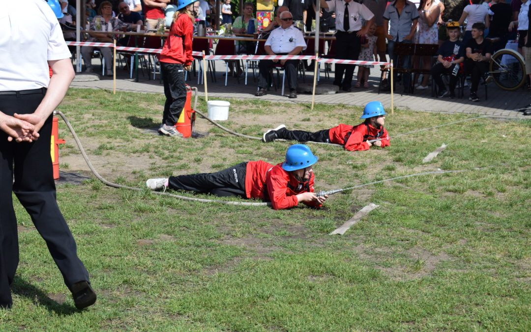 Gminne Zawody Sportowo-Pożarnicze w Barchlinie