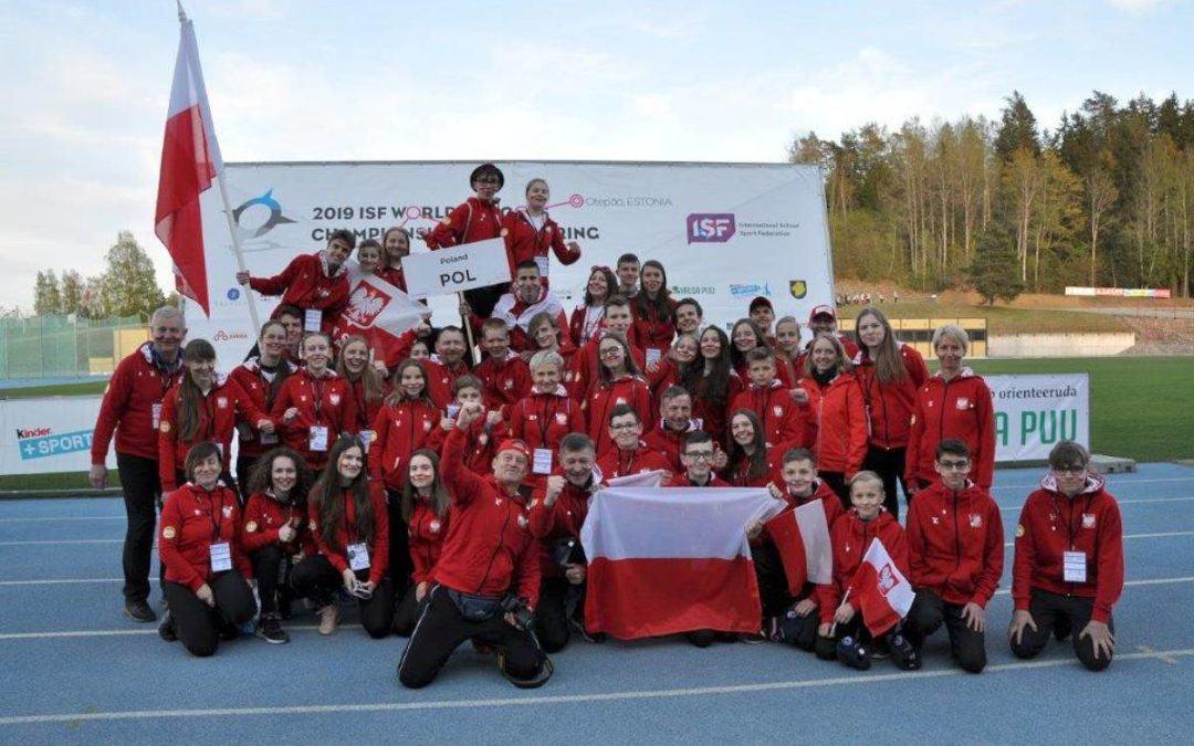 Szkolne Mistrzostwa Świata w biegu na orientacje w Estonii