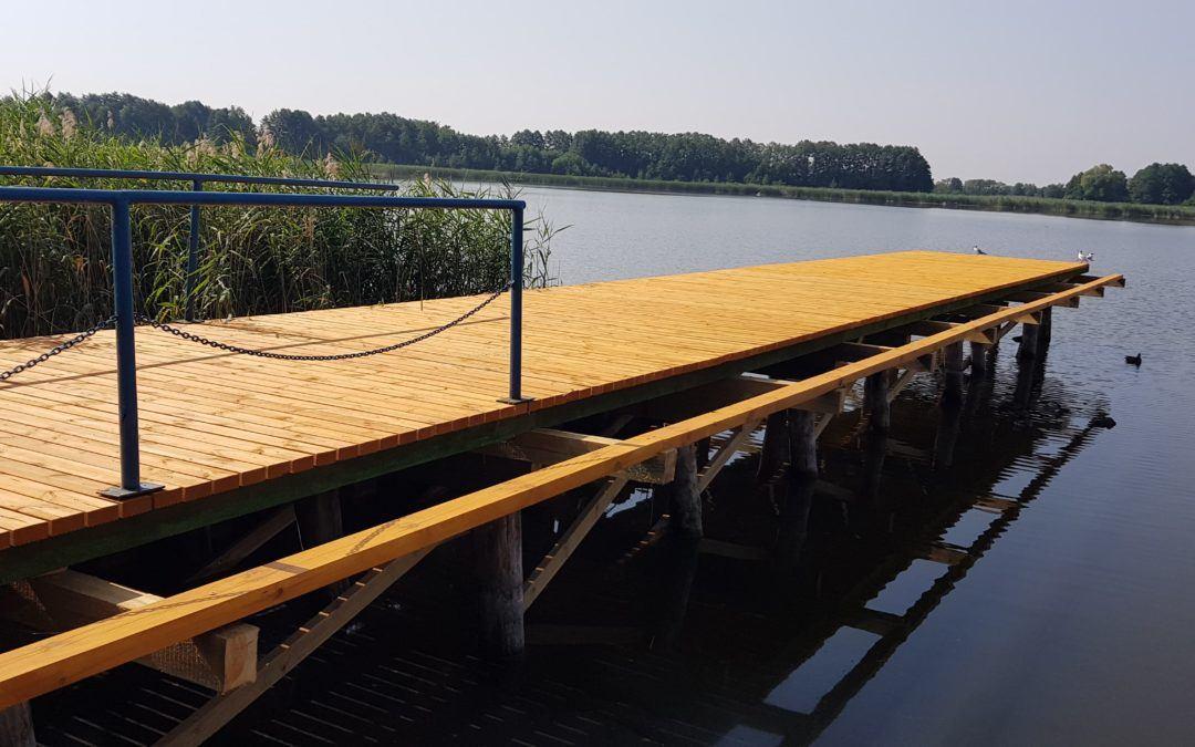 Koniec pierwszego etapu remontu pomostu w Osłoninie