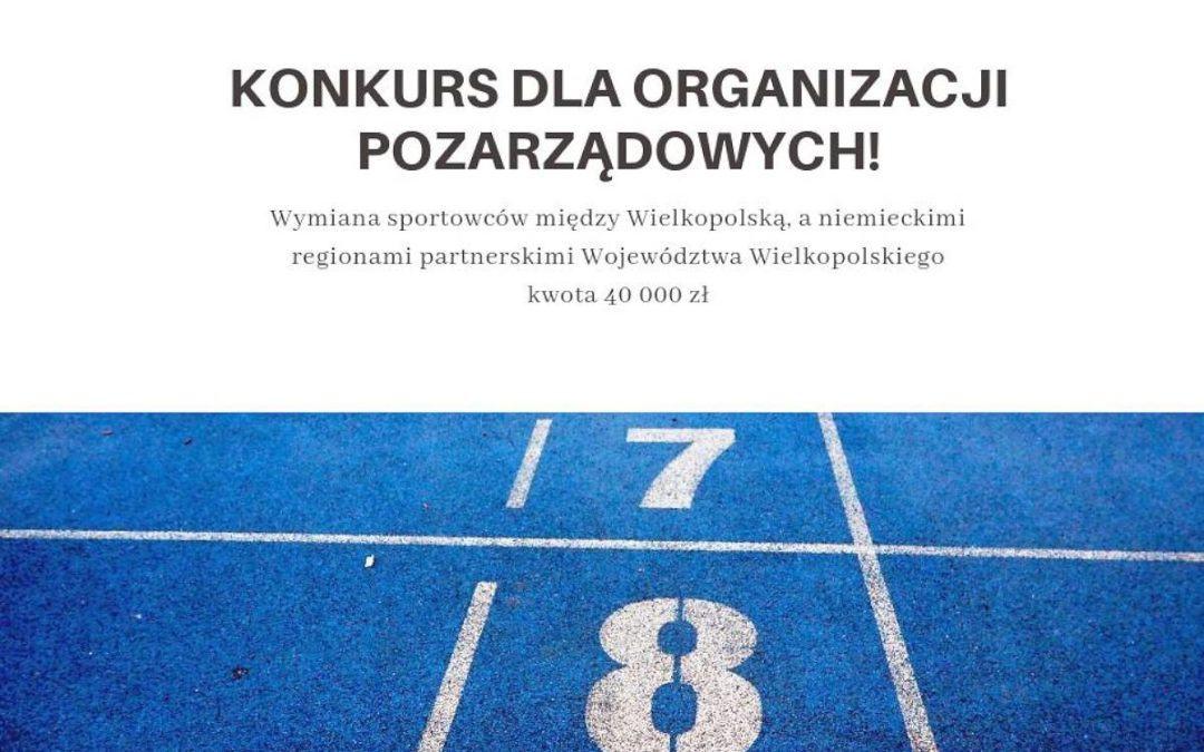 Wymiana Sportowców – Konkurs dla Organizacji Pozarządowych