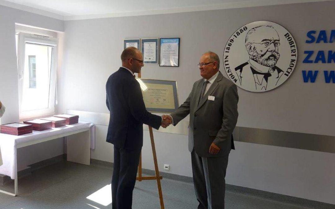 Wręczenie Certyfikatu Szpitala Akredytowanego