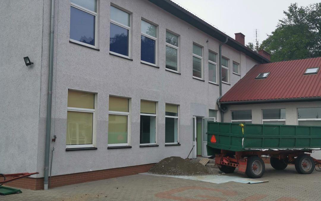 Ruszyła przebudowa szkoły podstawowej w Buczu.