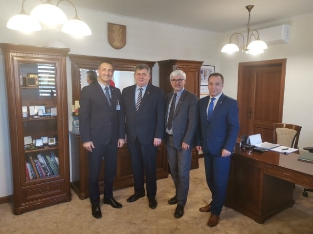 Spotkanie samorządowców rejonu wolsztyńskiego