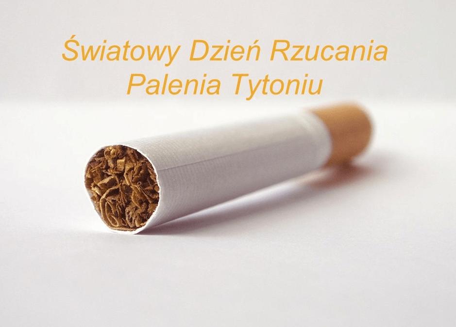 21 listopada -Światowy Dzień Rzucania Palenia Tytoniu