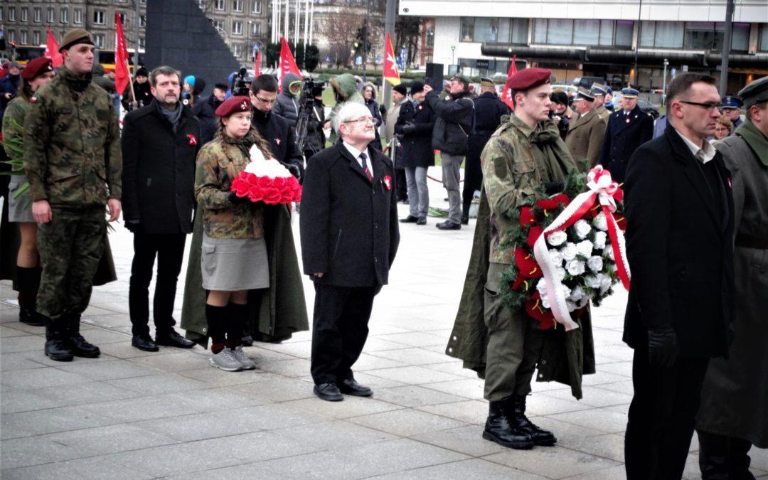 Warszawskie obchody 101. rocznicy Powstania Wielkopolskiego
