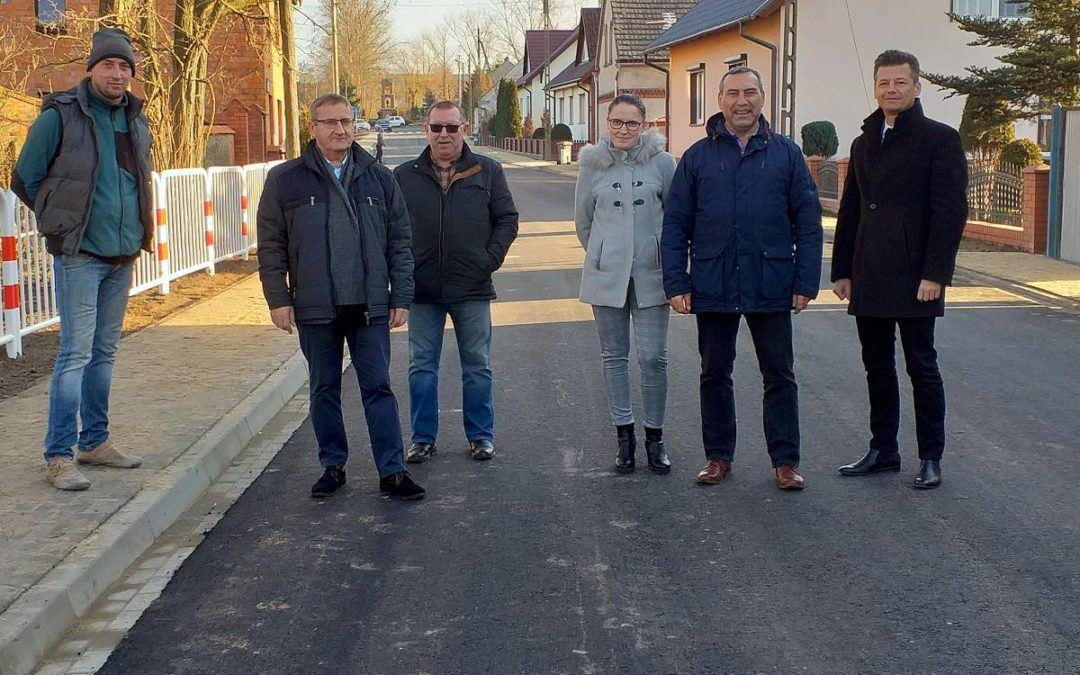Odbiór drogi w miejscowości Siekówko
