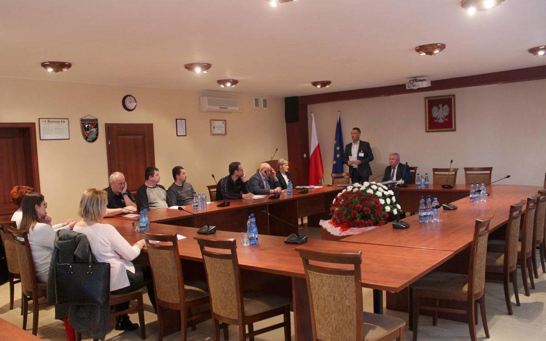 Spotkanie informacyjne z przedstawicielem Związku Międzygminnego OBRA