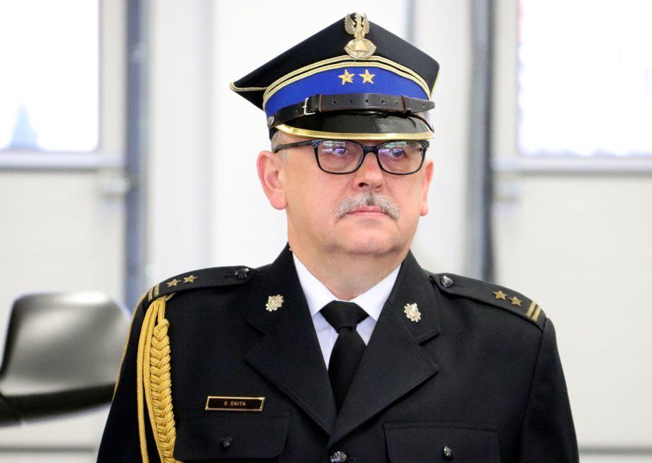 Pożegnanie Komendanta Powiatowego Państwowej Straży Pożarnej w Wolsztynie