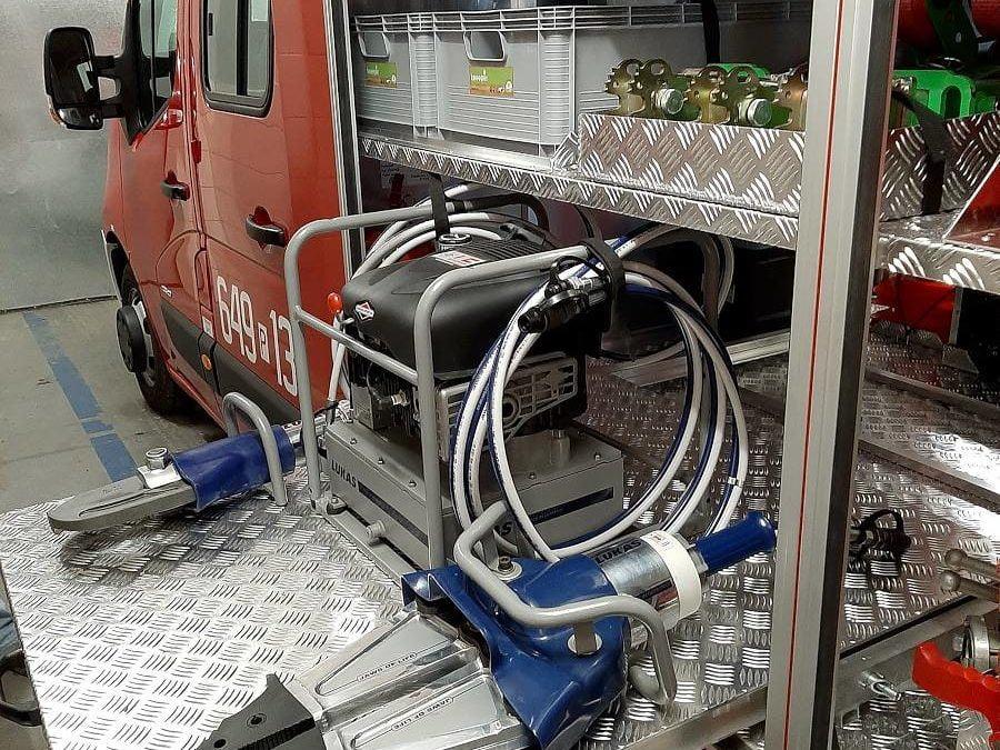 Nowy zestaw narzędzi hydraulicznych dla OSP Mochy