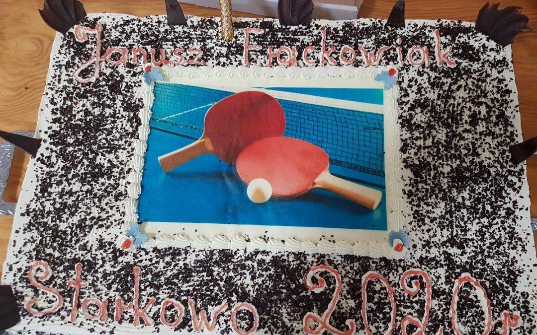 Turniej tenisa stołowego o puchar Wójta Gminy Przemęt w Starkowie