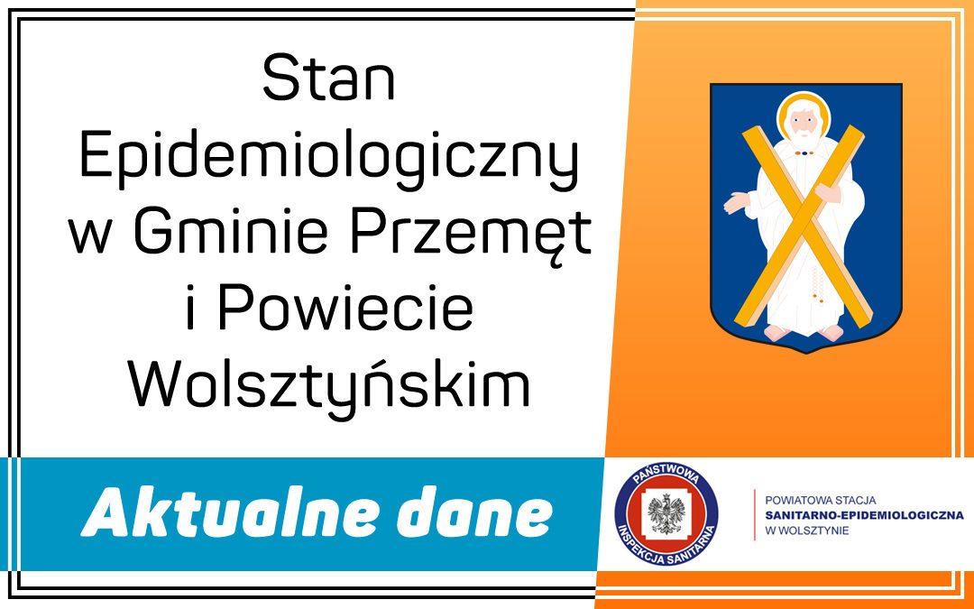 Stan Epidemiologiczny w Gminie Przemęt i Powiecie Wolsztyńskim  – Aktualne dane-